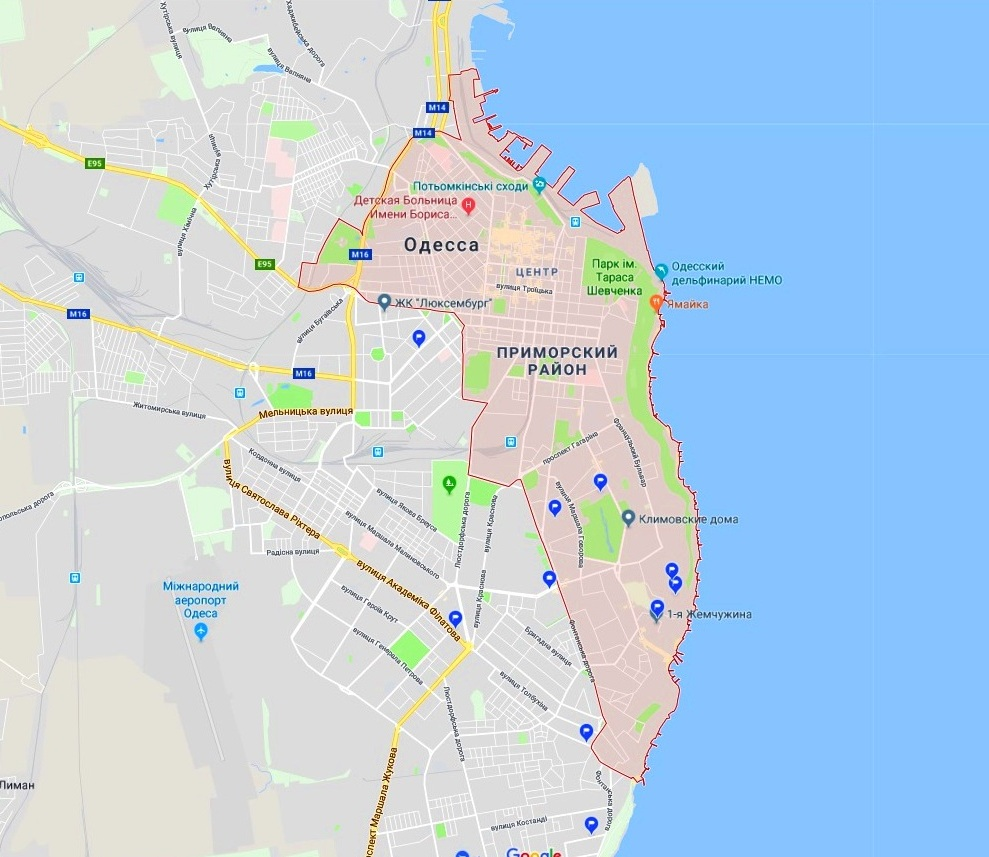 Обзор новостроек в Приморском районе Одессы